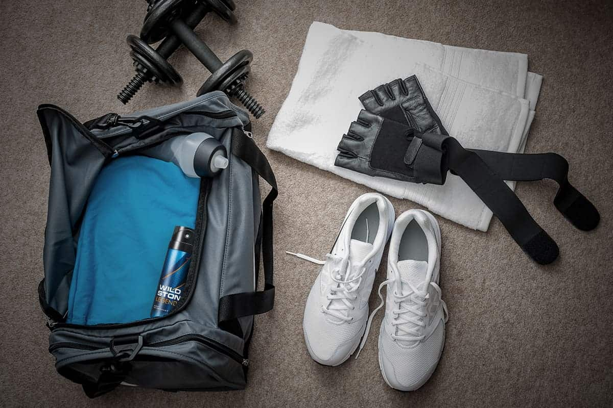 gym bag gear